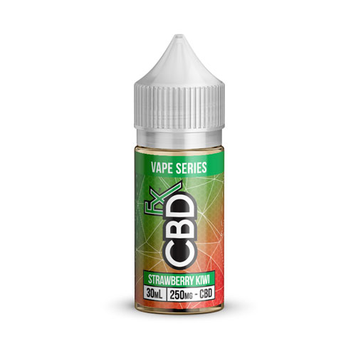 Strawberry Kiwi CBD Vape Juice by CBDfx Review